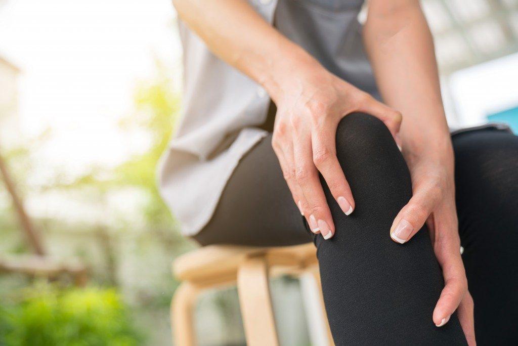 suffering from arthritis