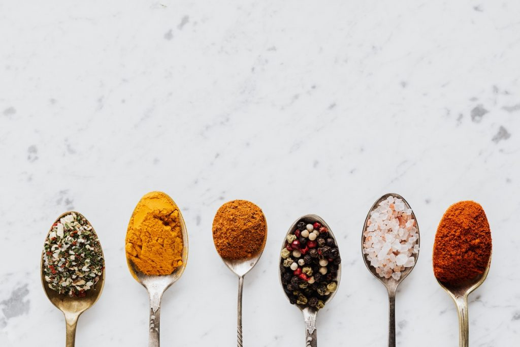 spoonful of spices